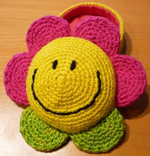 Smilie-bloem voorbeeld