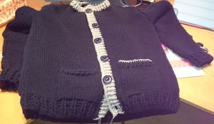 Tunisch Knit Stitch Vest